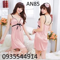 Váy ngủ nữ tính Hàn Quốc AN85