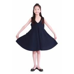 Đầm Xòe Thắt Dây Nơ Cho Bé - Giá Cực Sốc