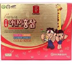 Hồng sâm trẻ em Hàn Quốc Gold Kids Red Ginseng Tonic