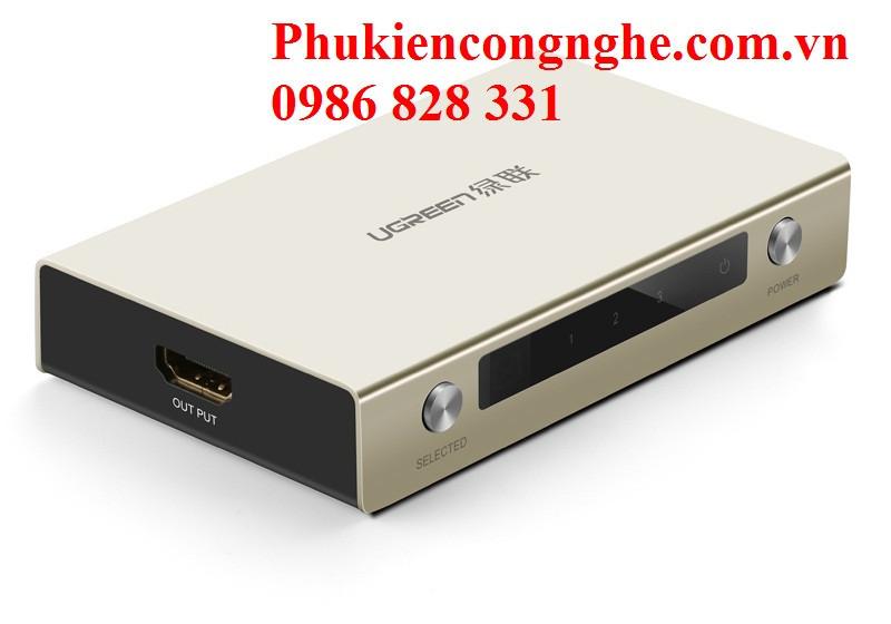 Bộ gộp HDMI 3 vào 1 ra hỗ trợ 4k x 2k chính hãng Ugreen UG-40278 2