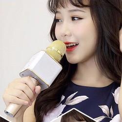 Mic Kiêm Loa Bluetooth hát karaoke không dây