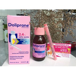 Hạ sốt Doliprane