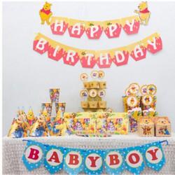 Bộ phụ kiện sinh nhật gấu Pooh