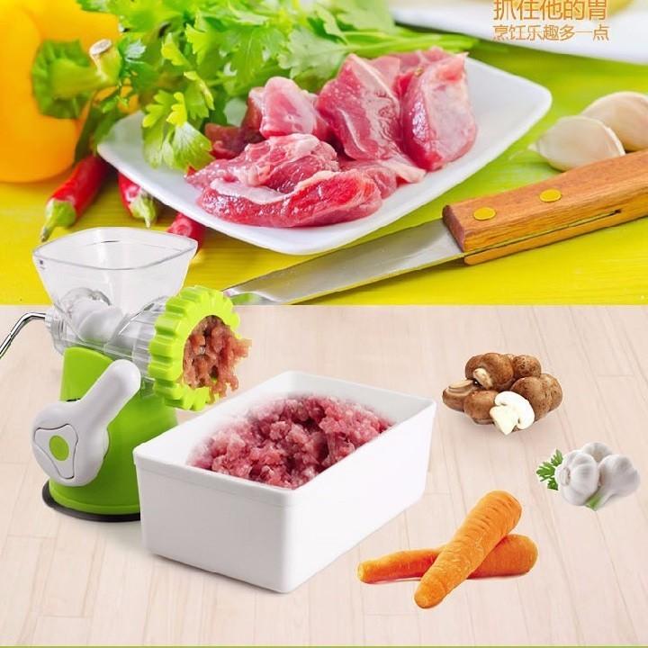 Máy xay thịt rau củ bằng tay 2