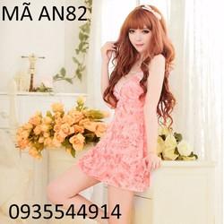 Váy ngủ họa tiết xinh xắn AN82