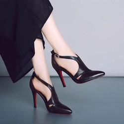 Giày cao gót quai cách điệu thời trang - LN764
