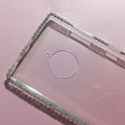 Nokia Lumia 830 - Ốp lưng điện thoại nhựa dẻo TPU viền đính đá