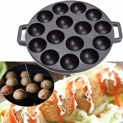 Combo 2 Khuôn làm bánh bạch tuộc Takoyaki Nhật 14 lỗ