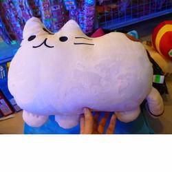 Mèo Pusheen nhồi bông 60cm , xám, trắng, đen, hồng,