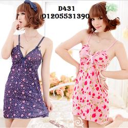 Đầm Ngủ Sexy Ren D431