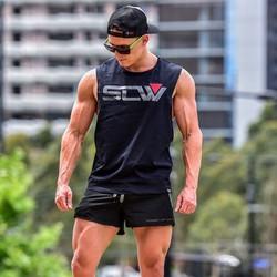 Áo tập gym nam thể thao tank top