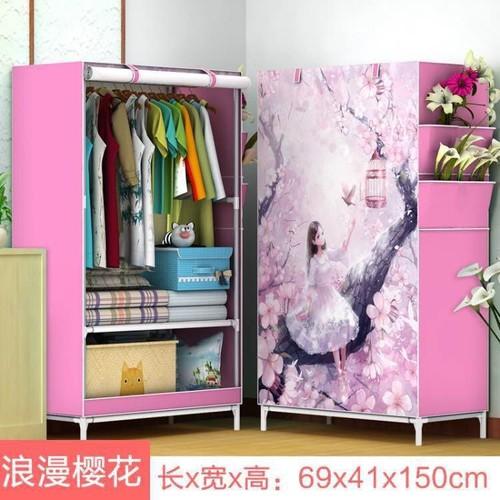 Tủ vải 3D 1 buồng 2 ngăn - 4526567 , 12841045 , 15_12841045 , 195000 , Tu-vai-3D-1-buong-2-ngan-15_12841045 , sendo.vn , Tủ vải 3D 1 buồng 2 ngăn