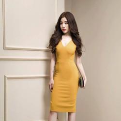 Đầm Body Đan Dây Sexy Quyến Rũ - D233