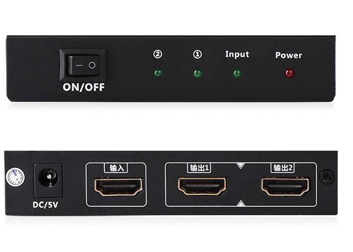 Bộ chia HDMI 1 ra 2 full HD Chính hãng Ugreen UG-40201 1