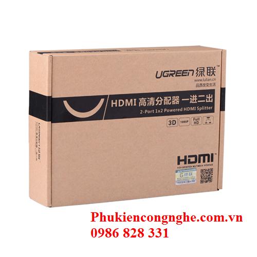 Bộ chia HDMI 1 ra 2 full HD Chính hãng Ugreen UG-40201 3