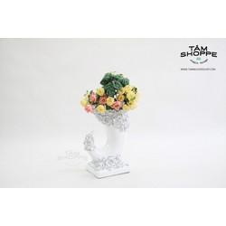 Bình hoa phong cách Hoàng gia