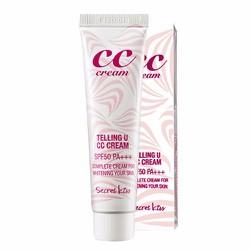 Kem hiệu chỉnh tông màu da Secret Kiss Telling U CC Cream SPF50+ PA+++