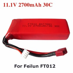 Pin dung lượng cao Cano Feilun FT012  11.1V 2700mAh, 30C
