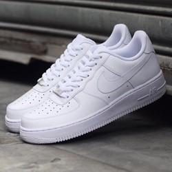 Giày thể thao sneaker Air Force màu trắng, nam