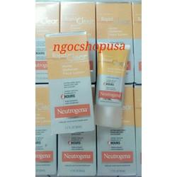 Trị mụn Neutrogena Rapid Clear Acne Defense Face Lotion