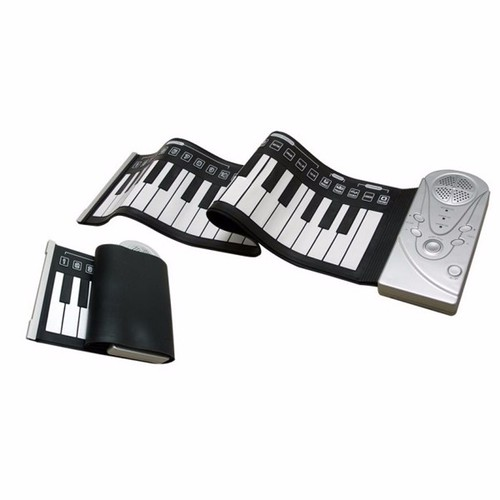 Đàn piano điện tử bàn phím cuộn dẻo 49 keys - Đàm organt