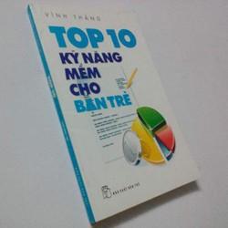 Sách Top 10 Kỹ Năng Mềm Cho Bạn Trẻ