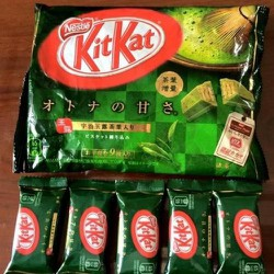 Bánh KitKat Trà Xanh 12 thanh Nhật Bản
