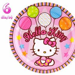 Đĩa Giấy Hello Kitty....