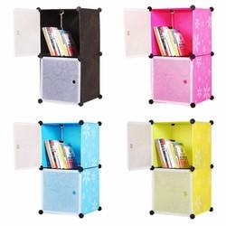 Tủ lắp ráp 2 ngăn cao cấp tự thiết kế TÂM HOUSE