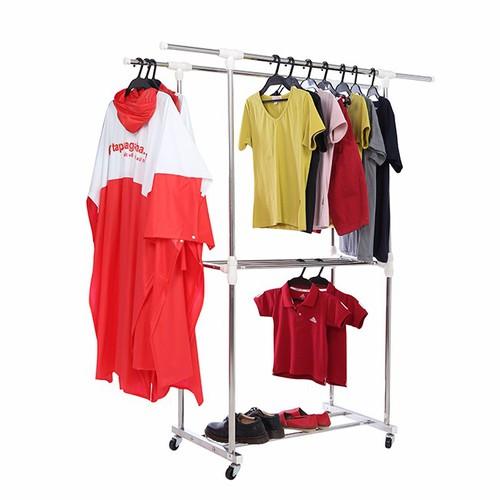 Giá phơi quần áo inox đôi cao cấp 2 tầng kèm giàn phơi khăn Prota - 4090673 , 4328611 , 15_4328611 , 465000 , Gia-phoi-quan-ao-inox-doi-cao-cap-2-tang-kem-gian-phoi-khan-Prota-15_4328611 , sendo.vn , Giá phơi quần áo inox đôi cao cấp 2 tầng kèm giàn phơi khăn Prota