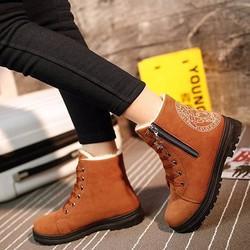 B05V - Giày bốt nữ phong cách Hàn Quốc