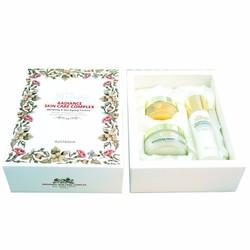 Bộ sản phẩm dưỡng trắng da Rosanna Radiance Skin Care Complex của Úc