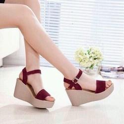 giày đế xuồng 10p nữ