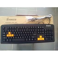 BÀN PHÍM SHINICE S37- PS2 GAME