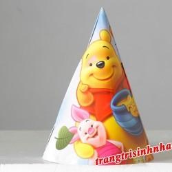 """Nón Sinh Nhật Gấu Pooh"