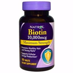 Thuốc kích thích mọc tóc Biotin 10,000mcg