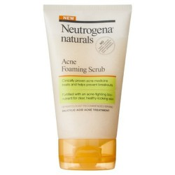 Sữa rửa mặt Neutrogena Naturals Acne Foaming Scrub