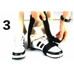 Dụng cụ hộ trợ tập Golf - Dây đai chân