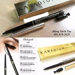Chì Kẻ Mắt Karadium Waterproof Eyeliner Pencil Black