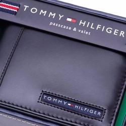 Bóp da Tomy Hilfiger Men Cambridge Passcase - màu đen