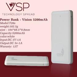 Pin sạc dự phòng Vision 5200mAh - VSP