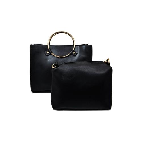 Túi xách nhập khẩu - Set túi xách đen