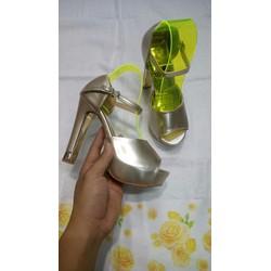 Giày Cao Gót nữ đế cao 10 cm size 35 - 39