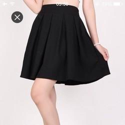 Chân váy xếp ly 384QA-hàng shop
