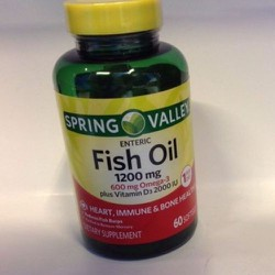 Spring Valley - Fish Oil 1200mg