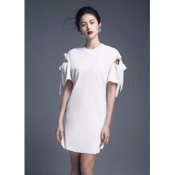 Đầm Suông Chữ A Thắt Nơ Xinh Như Hạ Vy - D149