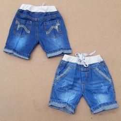Quần jean cotton lửng mềm cho bé cực ngầu