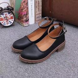 Giày búp bê phong cach Vintage