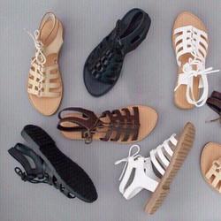 Giày sandal nữ dành cho các cô nàng cá tính