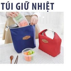 Combo 2 túi đựng giữ nhiệt thức ăn